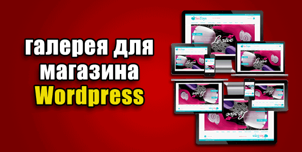 galereja dlja magazina wordpress