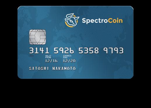 spectrocoin сделать дебитовую карту для биткоин