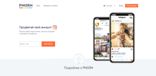 Интерфейс PMGRM