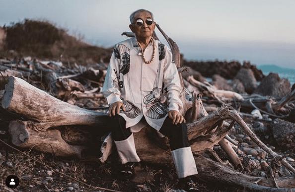 модный дед в инстаграм
