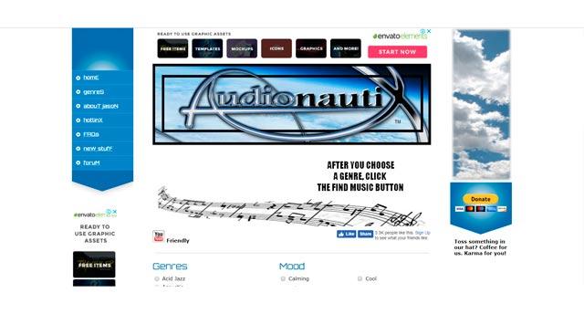 audionautix сайт для бесплатной загрузки песен