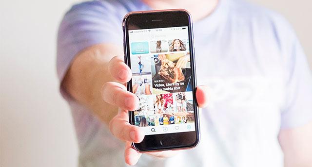 Инстаграм на iphone